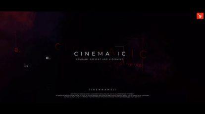 پروژه افترافکت نمایش عناوین فیلم Film Titles Opener