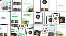 پروژه افترافکت تیزر تبلیغاتی اپلیکیشن غذا Food App Promo