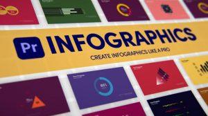 پروژه پریمیر اینفوگرافیک Infographics