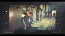 پروژه افترافکت اسلایدشو سینمایی Memory Frames Cinematic