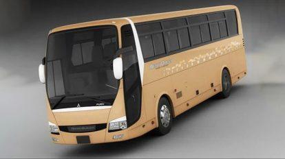مدل سه بعدی اتوبوس Mitsubishi Aero Queen