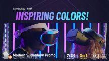 پروژه افترافکت اسلایدشو مدرن Modern Slideshow Promo