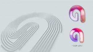 پروژه افترافکت نمایش لوگو با خطوط چندگانه Multiple Strokes Logo Reveal