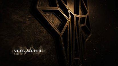 پروژه افترافکت نمایش لوگو گرانج Neon Grunge Logo