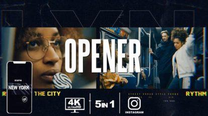 پروژه افترافکت افتتاحیه تبلیغاتی Opener Promo