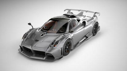 مدل سه بعدی خودرو پاگانی Pagani Imola 2021