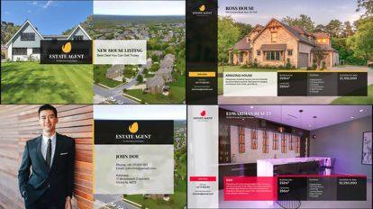 پروژه افترافکت تیزر تبلیغاتی مشاور املاک Real Estate Promo 6