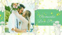 پروژه افترافکت اسلایدشو عاشقانه Romantic Beautiful Slideshow
