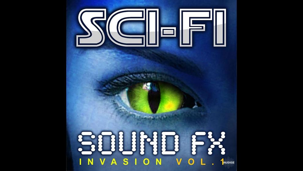 مجموعه افکت صوتی علمی تخیلی Sci-Fi Sound Effects Invasion Vol.1