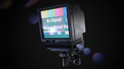 مدل سه بعدی تلویزیون دیواری Wall-Mounted Television