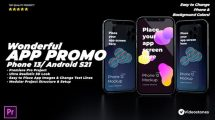 پروژه پریمیر تیزر تبلیغاتی اپلیکیشن Wonderful App Promo