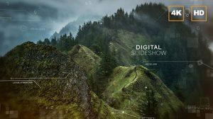 پروژه افترافکت اسلایدشو دیجیتال 4K