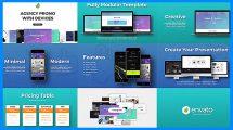 پروژه افترافکت تیزر تبلیغاتی با تجهیزات دیجیتال Agency Promo with Devices