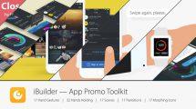 پروژه افترافکت تیزر تبلیغاتی اپلیکیشن iBuilder App Promo Toolkit