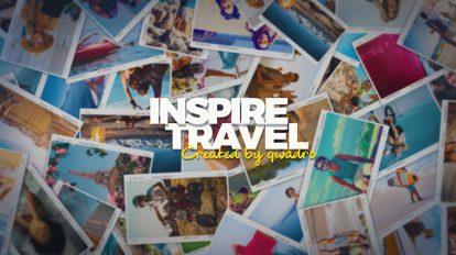 پروژه افترافکت اسلایدشو سفر خاطره انگیز Inspiring Travel