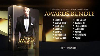 پروژه افترافکت باندل مراسم اهدای جوایز Awards Bundle