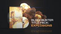 پروژه افترافکت عناوین سینمایی انفجاری Blockbuster Title Pack Explosions