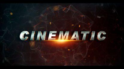 پروژه افترافکت تریلر فیلم سینمایی Cinematic Movie Trailer