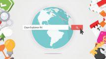 پروژه افترافکت تیزر تبلیغاتی وبسایت Clean Explainer Kit