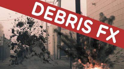 مجموعه فوتیج ویدیویی خرده و آوار Debris FX