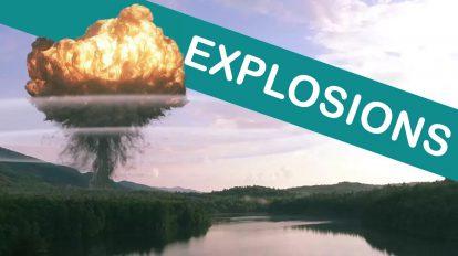 مجموعه فوتیج ویدیویی انفجار Explosions برای ساخت جلوه های ویژه