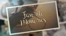پروژه پریمیر نمایش عکس لحظات محبوب Favorite Moments