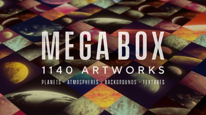 مجموعه 1140 تکسچر و زمینه Mega Box