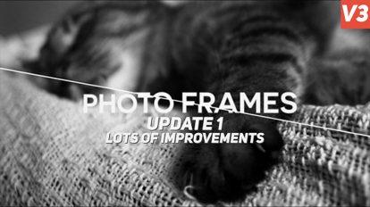 پروژه افترافکت نمایش تصاویر Photo Frames
