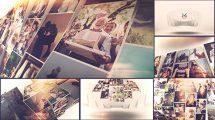 پروژه افترافکت اسلایدشو موزاییکی عکس Photo Mosaic Slideshow