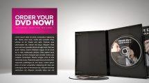 پروژه افترافکت تیزر تبلیغاتی دی وی دی Promote Your DVD
