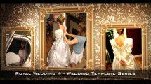 پروژه افترافکت نمایش عکس های عروسی Royal Wedding 4