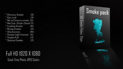 مجموعه ویدیوی موشن گرافیک دود Smoke Collection 01