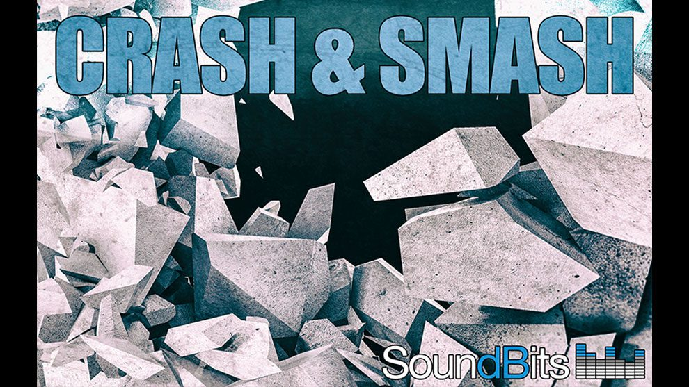 مجموعه افکت صوتی برخورد و تصادم SoundBits Crash and Smash