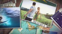 پروژه افترافکت نمایش تصاویر سفر Travel Video