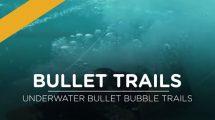 مجموعه فوتیج ویدیویی شلیک گلوله زیر آب Underwater Bullet Trails