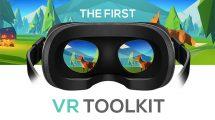 پروژه افترافکت جعبه ابزار ویدیوی واقعیت مجازی VR Toolkit