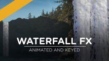 مجموعه ویدیوی موشن گرافیک آبشار Waterfall FX