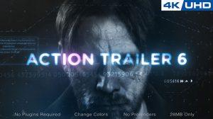 پروژه افترافکت تریلر اکشن Action Trailer 06