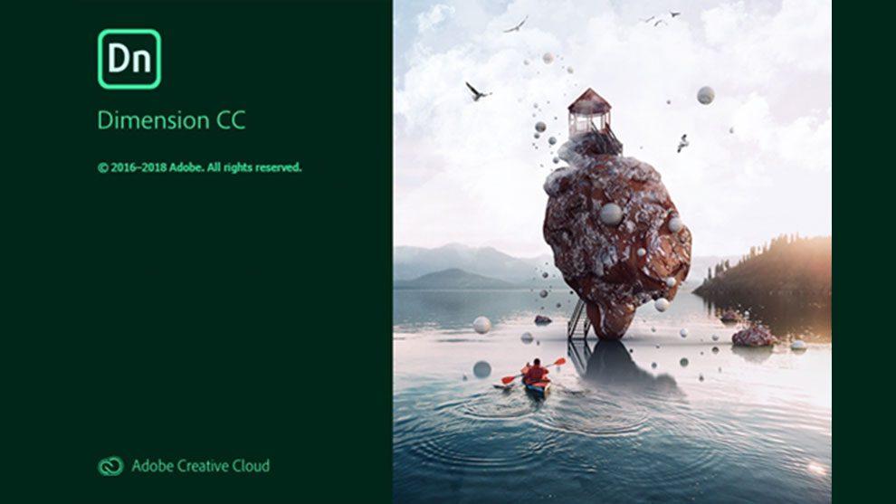 نرم افزار دایمنشن Adobe Dimension CC 2019