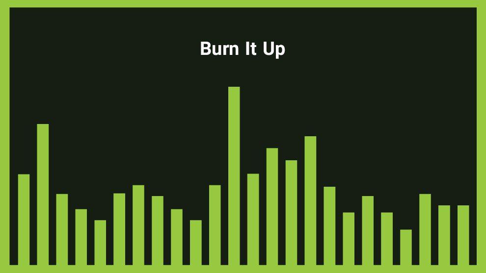 موزیک زمینه راک پرانرژی Burn It Up
