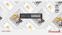 پروژه افترافکت تیزر تبلیغاتی با تجهیزات دیجیتال Digital Signage
