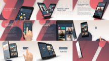 پروژه افترافکت تیزر تبلیغاتی اپلیکیشن Fast App Promo