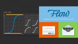 پلاگین افترافکت Flow ابزار ویرایش منحنی انیمیشن