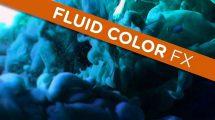 مجموعه ویدیوی موشن گرافیک حرکت سیالات زیر آب Fluid Color FX
