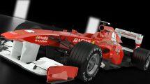 پروژه افترافکت نمایش لوگو با ماشین فرمول 1 Formula One
