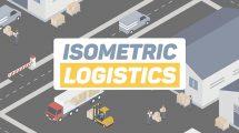 پروژه افترافکت تیزر تبلیغاتی شرکت حمل و نقل Isometric Logistics