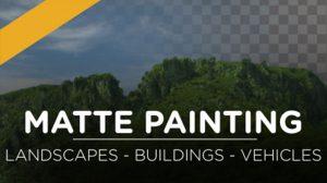 مجموعه تصاویر مت پینتینگ Matte Painting Set Extensions