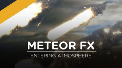 مجموعه ویدیوی موشن گرافیک شهاب سنگ Meteor FX