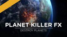 مجموعه ویدیوی موشن گرافیک تخریب سیاره Planet Killer FX