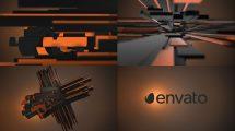 پروژه افترافکت نمایش لوگو سه بعدی Plus Element 3D Logo Opener